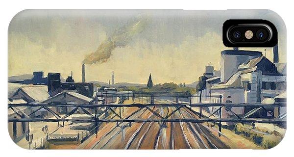 iPhone Case - Train Tracks Maastricht by Nop Briex