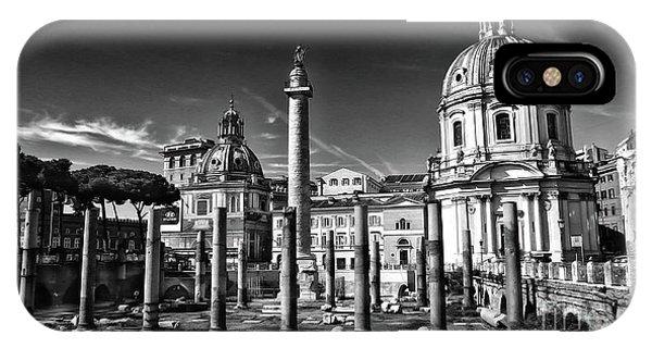 Trajan's Forum - Forum Traiani IPhone Case