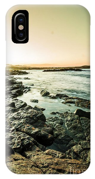 Seashore iPhone Case - Tranquil Cove by Jorgo Photography - Wall Art Gallery