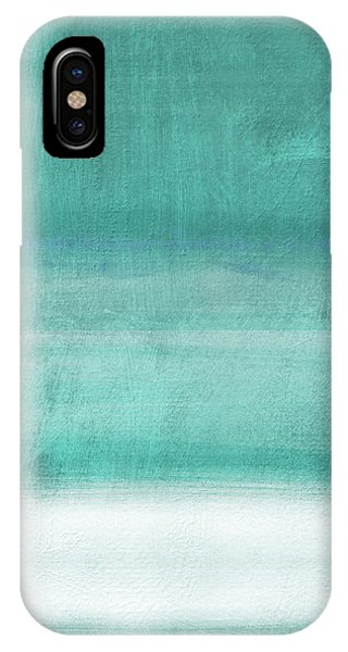 Sky iPhone Case - Tranquil Horizon- Art By Linda Woods by Linda Woods