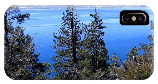 Tranquil Lake Tahoe IPhone Case