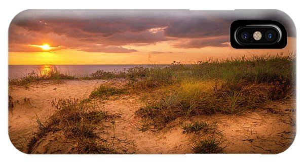 Oceanfront iPhone Case - Tranquil Moment by Marvin Spates