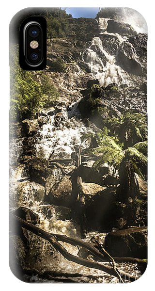 Rocky Mountain iPhone Case - Tranquil Mountain Canyon by Jorgo Photography - Wall Art Gallery