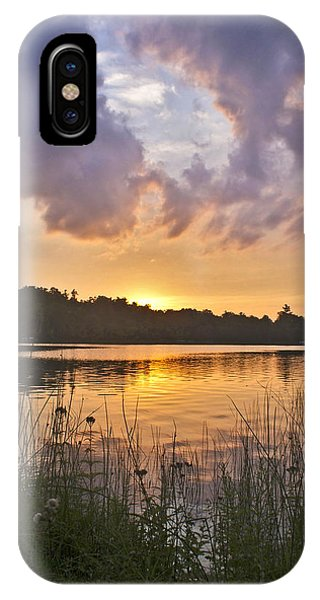 Tranquil Sunset On The Lake IPhone Case