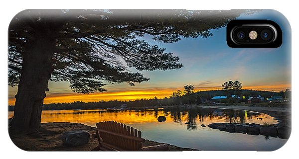 Tranquility At Sunset IPhone Case
