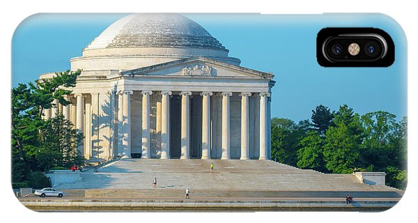 Tranquility At The Jefferson Memorial IPhone Case