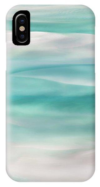 Teal iPhone Case - Tranquil Turmoil by Az Jackson