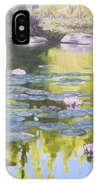 Tranquility IIi Furman University IPhone Case