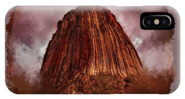 Transcendent Devils Tower 2 IPhone Case