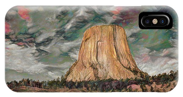 Transcendental Devils Tower IPhone Case