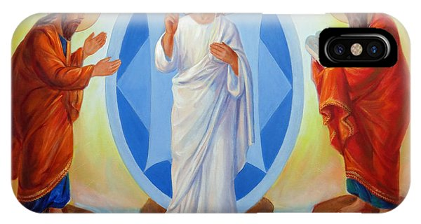 Transfiguration Of Jesus IPhone Case