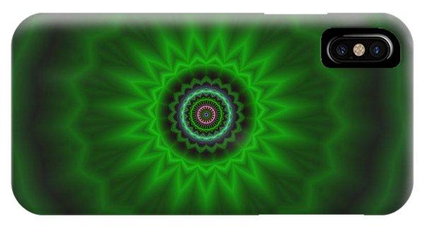 IPhone Case featuring the digital art Transition Flower 2 by Robert Thalmeier