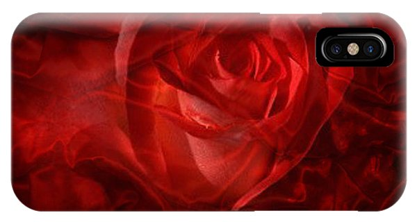 Translucent Rose IPhone Case