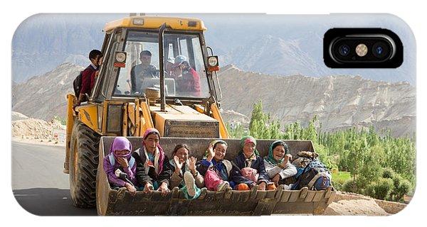 Transport In Ladakh, India IPhone Case