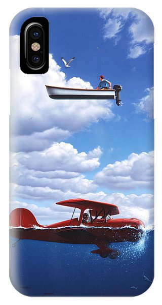Seagull iPhone Case - Transportation by Jerry LoFaro