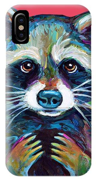 Trash Panda IPhone Case