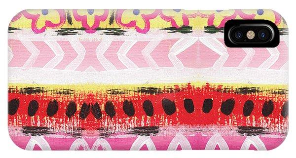 Pattern iPhone Case - Southwest Jubilee- Art By Linda Woods by Linda Woods