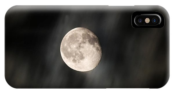 Travelling With Moon IPhone Case