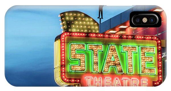 Traverse City State Theatre IPhone Case