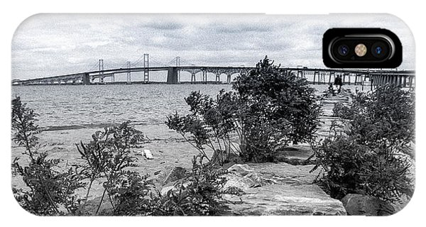 IPhone Case featuring the photograph Traversing The Chesapeake by T Brian Jones