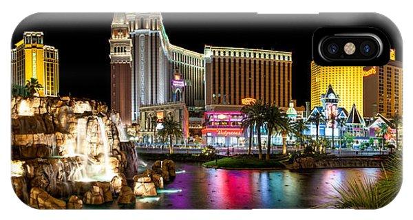 Las Vegas iPhone X Case - Treasure Island View by Az Jackson