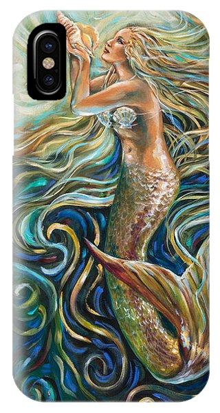 Treasure Mermaid IPhone Case
