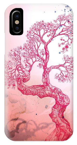 Tree 14 Hybrid 1 IPhone Case