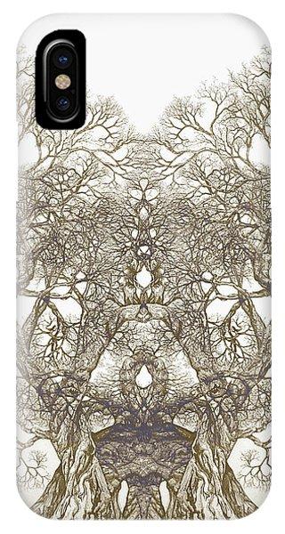 Tree 20 Hybrid 1 IPhone Case