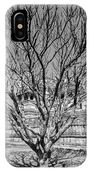 Tree And Temple IPhone Case