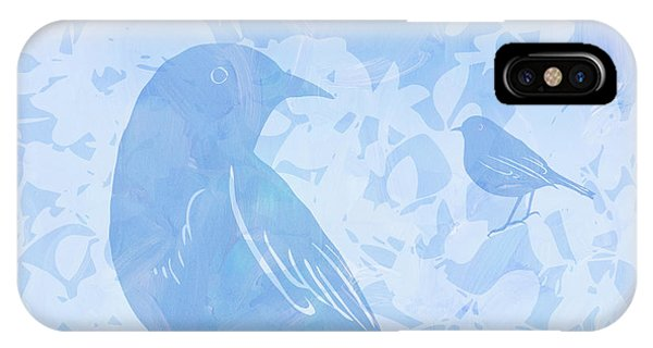 Tree Birds I IPhone Case