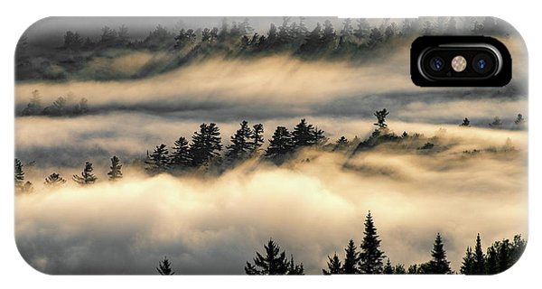 Trees In The Clouds IPhone Case