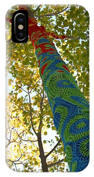 Tree Crochet IPhone Case