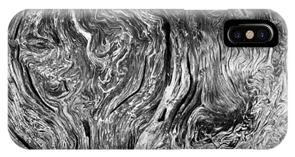 Fineart iPhone Case - Tree Cross Section Abstract. Taken In by Alex Snay