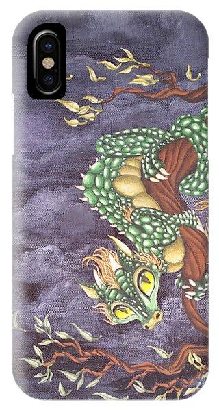 Tree Dragon IPhone Case