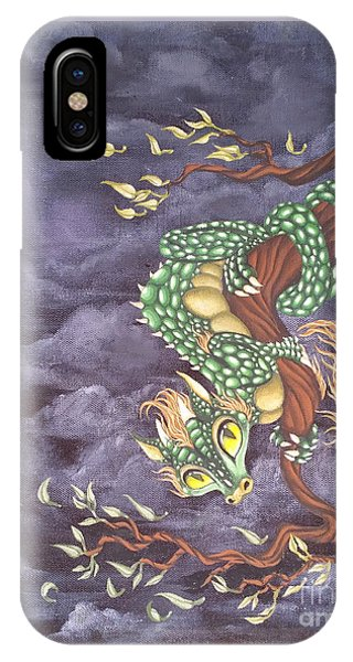 Tree Dragon IPhone Case