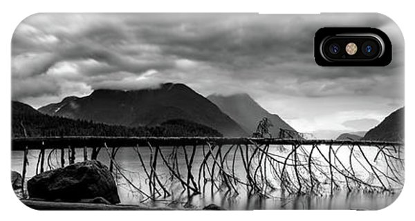 Tree Fall At Alouette Lake IPhone Case