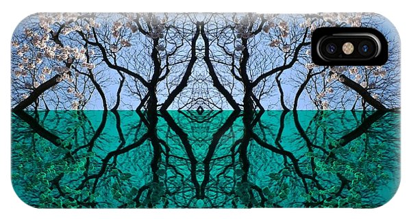 Tree Gate Between Water And Sky Worlds IPhone Case