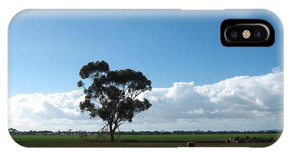 Tree In Field IPhone Case