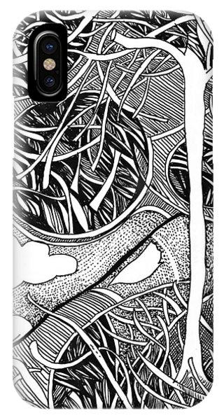 Tree In Metamorphosis IPhone Case