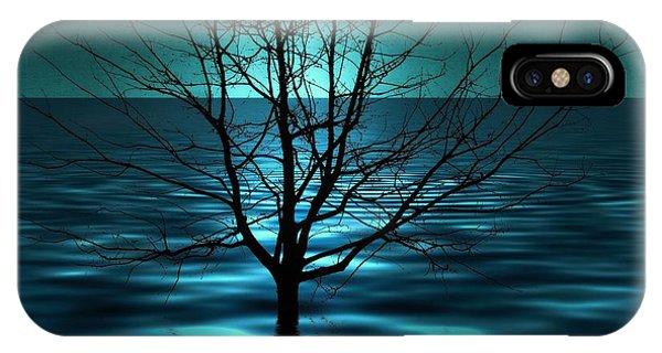Tree In Ocean IPhone Case