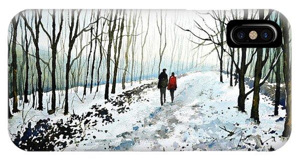 iPhone Case - Tree Lined Stroll by Paul Dene Marlor