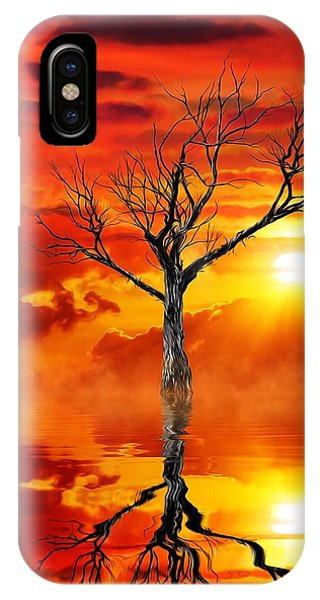 Tree Of Destruction IPhone Case
