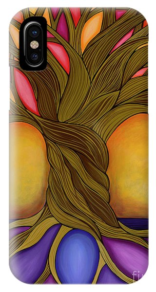 IPhone Case featuring the painting Tree Of Life by Carla Bank