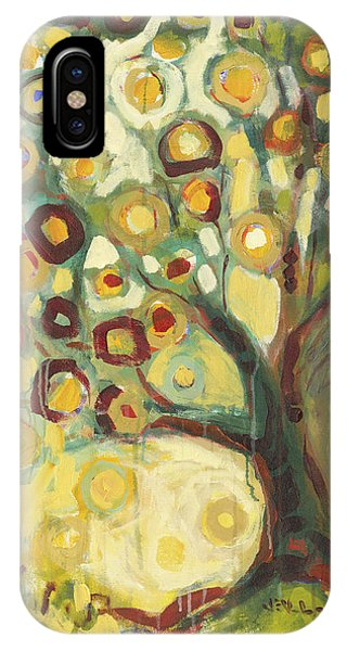 Abstract iPhone Case - Tree Of Life In Autumn by Jennifer Lommers