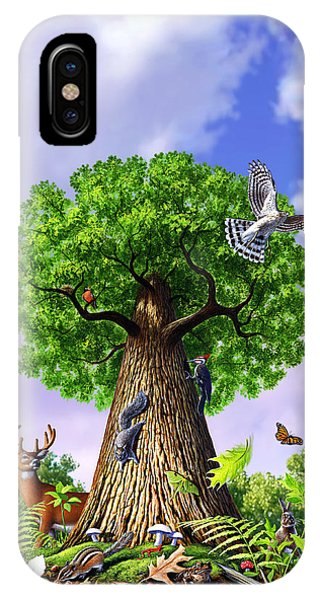 Amphibians iPhone Case - Tree Of Life by Jerry LoFaro