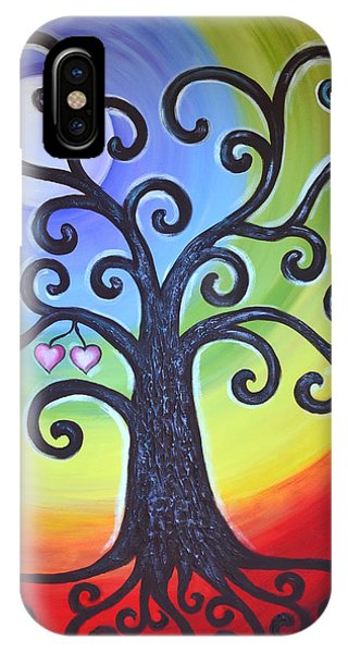 Tree Of Life Love And Togetherness IPhone Case