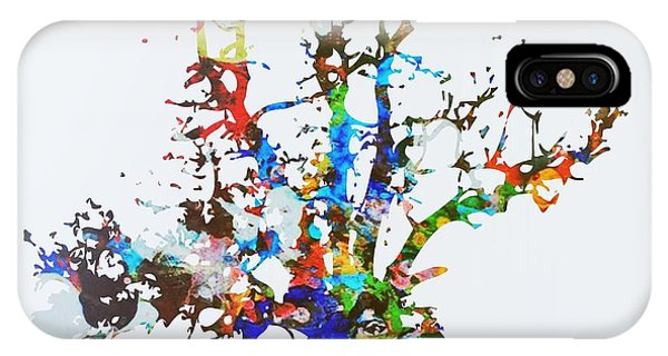 IPhone Case featuring the painting Tree Of Life by Mark Taylor