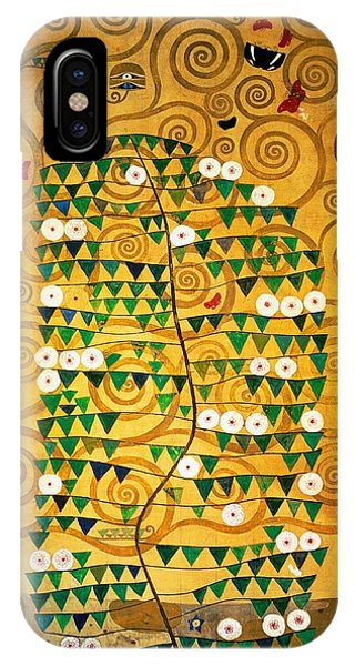 1862 iPhone Case - Tree Of Life Stoclet Frieze by Gustav Klimt