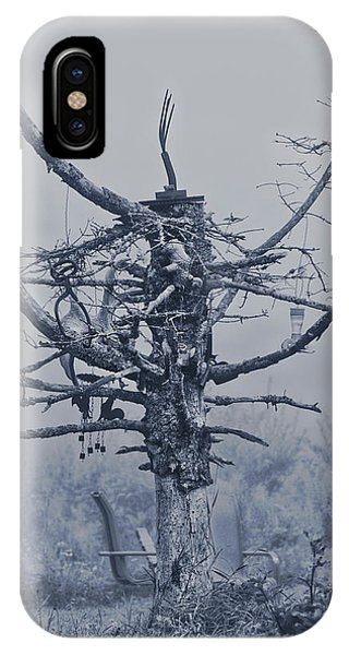 Farm Tool iPhone Case - Tree Of Lost Possibles by Susan Capuano