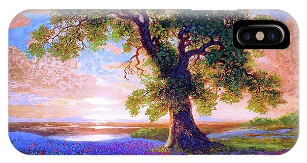 Blossoms iPhone Case - Tree Of Tranquillity by Jane Small